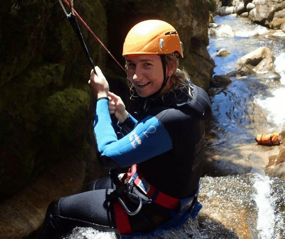 canyoning abel tasman