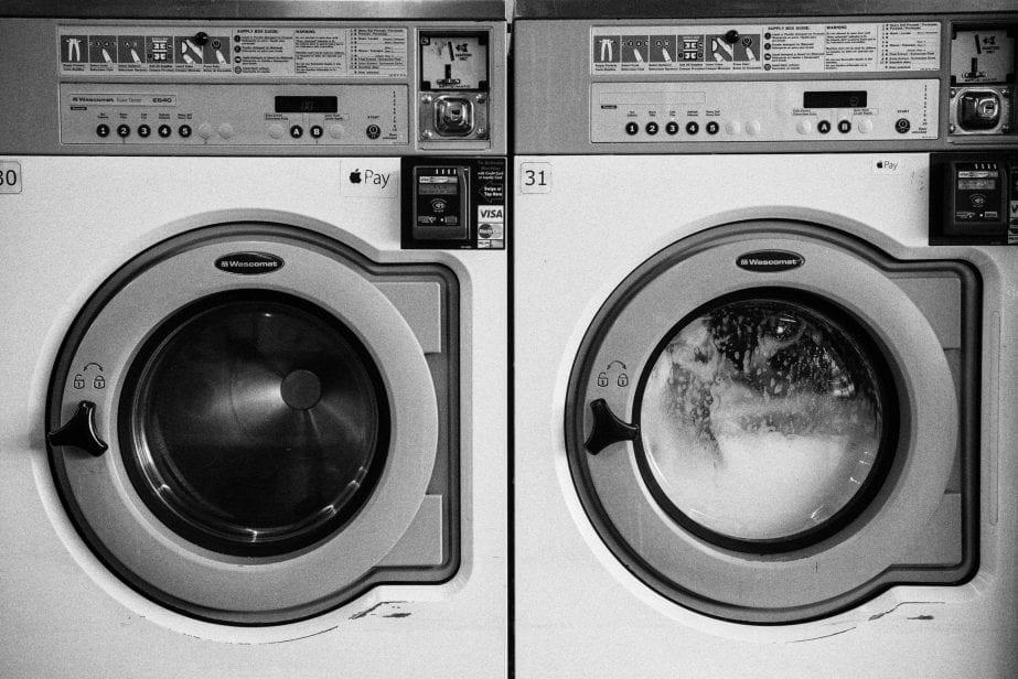 laundry vanlife