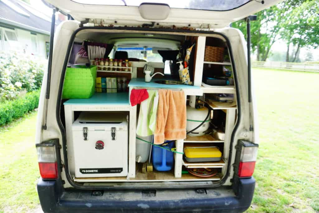 campervan equipment