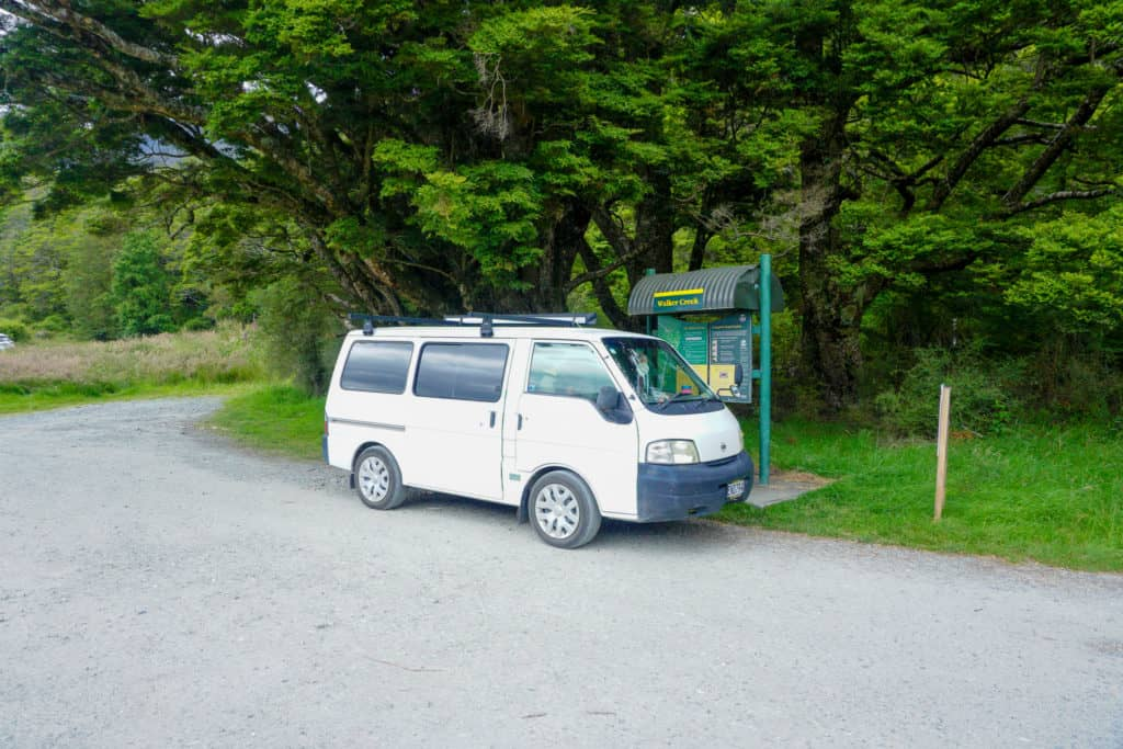 travelling by van is a perfect way to enjoy your South Island road trip!