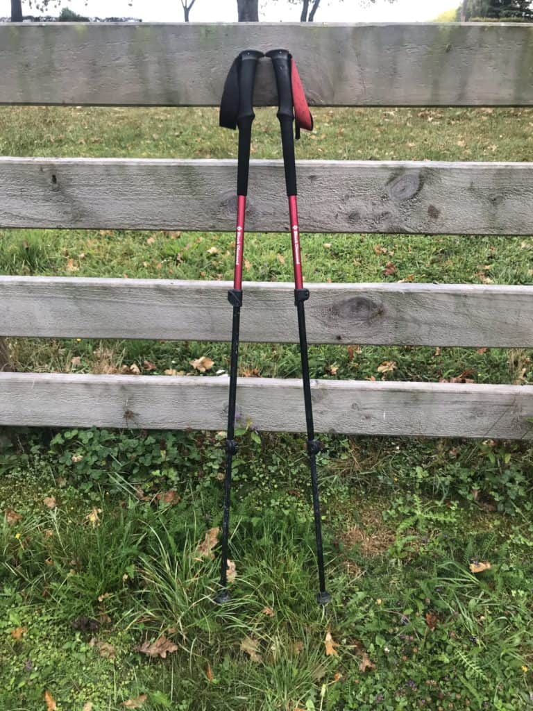 This is a photo of my two hiking poles I use.