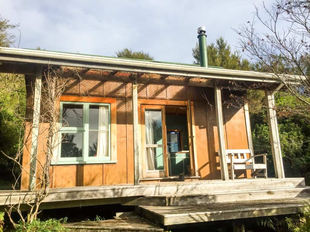 my favourite airbnb stay in Golden bay nz!
